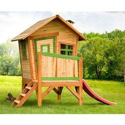 Maisonnette Cabane Enfant  Bois ROBIN AXI - Jeux de plein air