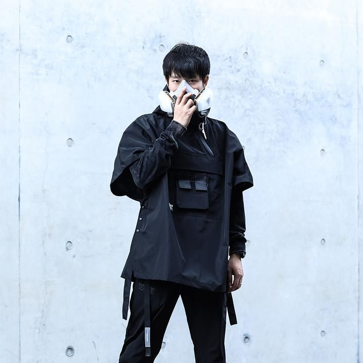 f6d3c8fe3 Short Sleeve tactical Techwear jacket | Techware in 2019 | Fashion ...