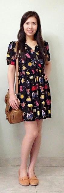 Salgy : bag pattern dress