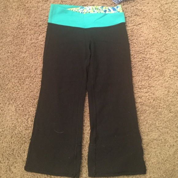 Reversible Ivviva Leggings These are reversible. They are a size 12 in Ivviva which is a 2 in lululemon. Ivviva is Lululemon Kids lululemon athletica Pants Ankle & Cropped