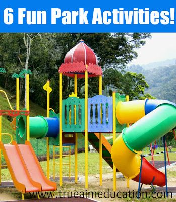 Parks will never loose their luster with these fun activities!