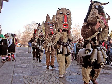 Bulgaria, Mummers, The Kukeri