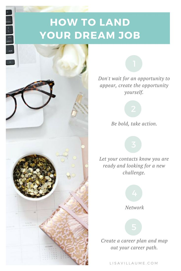 Read to discover the 5 step formula I use when I want to land my dream job.