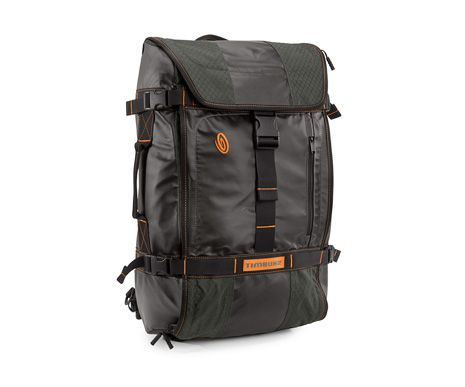 Timbuk2 Aviator Travel Backpack - rainfly, removable hip belt, and hidden-from-the-public-eye zipper pockets