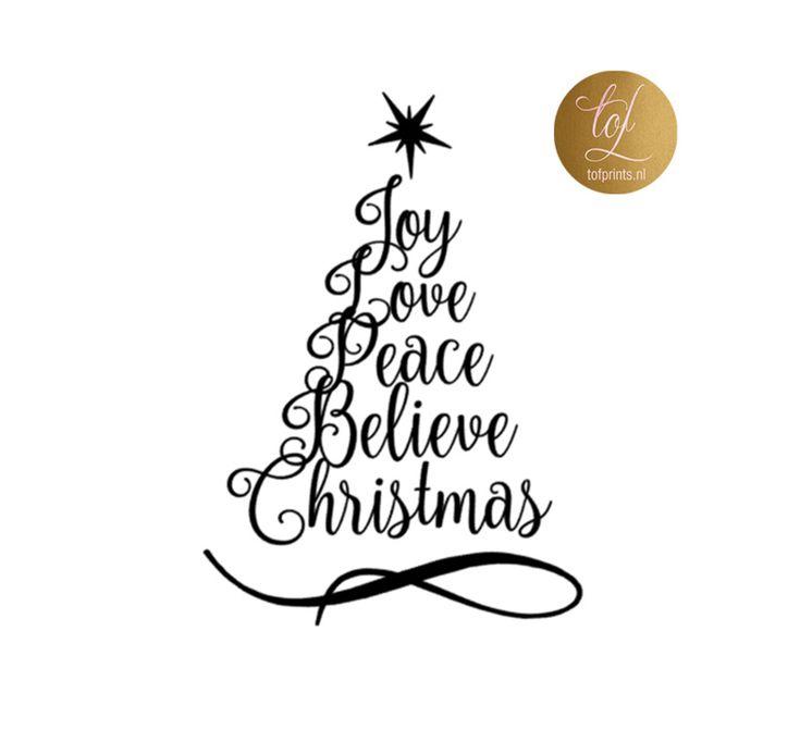 JOY LOVE PEACE STICKER