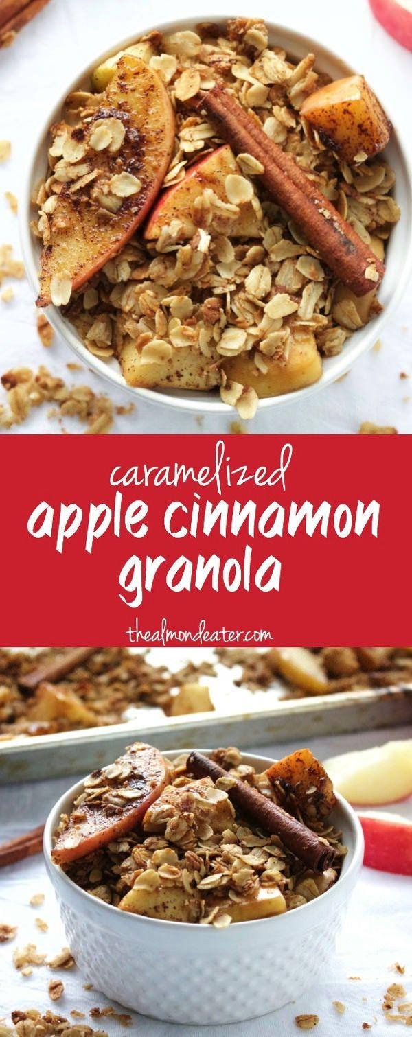 cinnamon granola apple cinnamon granola jpg everythang oatmeal granola ...