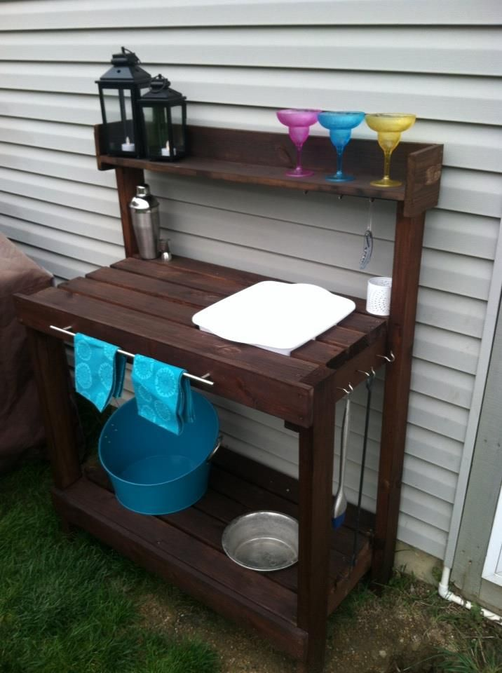 Do It Yourself Outdoor Bar: 97 Best Potting Bench Images On Pinterest