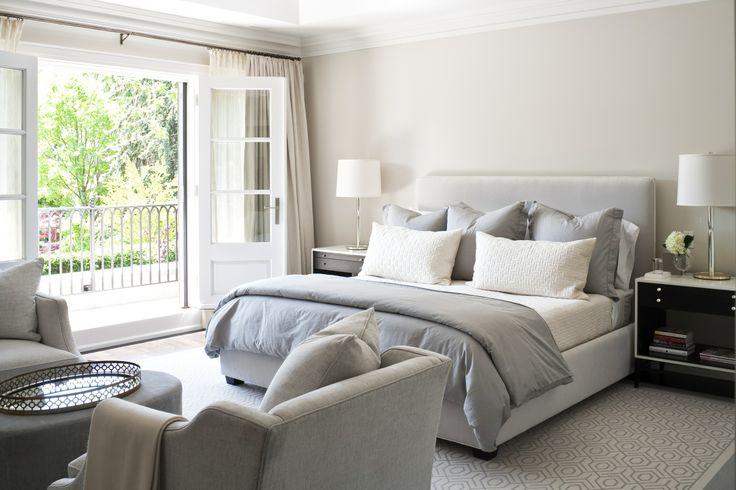 neutral bedroom // Jennifer Worts Design