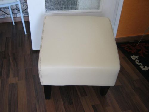 Fuß Hocker in Beige aus Leder in Berlin - Schöneberg | Sessel Möbel - gebraucht oder neu kaufen. Kostenlos verkaufen | eBay Kleinanzeigen