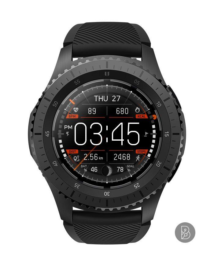 Cockpit Watch Face For Samsung Gear S3 S2 Watchface By Brunen Casio Watch Samsung Watches Watches Australia