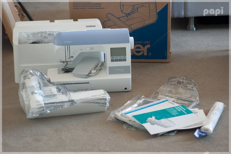 brother pe525 embroidery machine manual