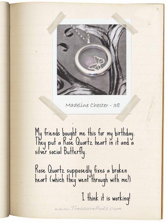 My #LocketStory - Madeline Chester, 38