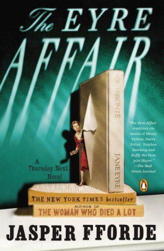 The Eyre Affair: A Thursday Next Novel by Jasper Fforde http://www.amazon.com/dp/0142001805/ref=cm_sw_r_pi_dp_9dTVtb04ANPYKGNW