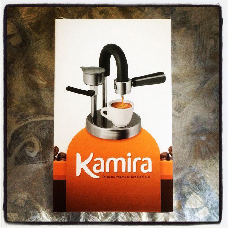 Kamira, macchina espresso Made in Sicily. Funziona a polvere di Caffè, no cialde e capsule. Alternativa intelligente ad un espresso come al bar, ma a casa Vostra!