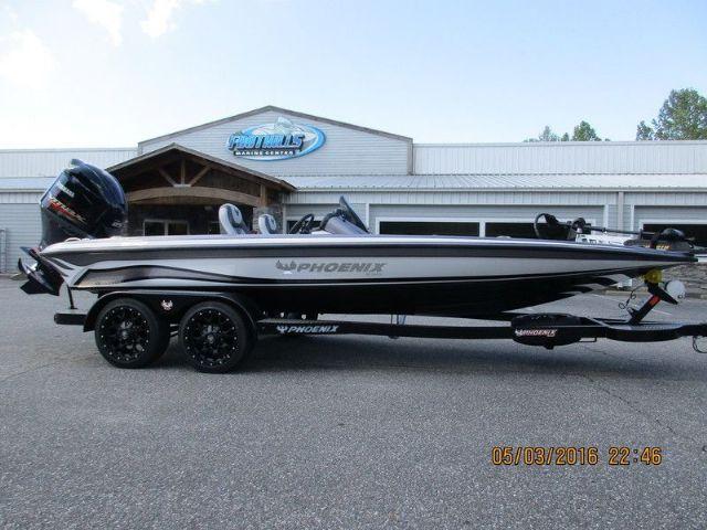 20.7 feet  2016 Phoenix Bass Boats 920 ProXP Bass Boat , Gunmetal / White / Black Silver / Silver for sale in Morganton, NC