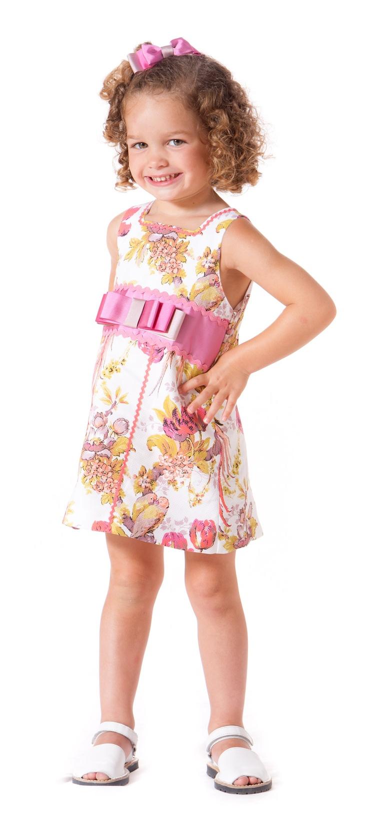 Vestido de niña paraisobebe.com ropa, bebé, verano, primavera, infantil, niña, moda