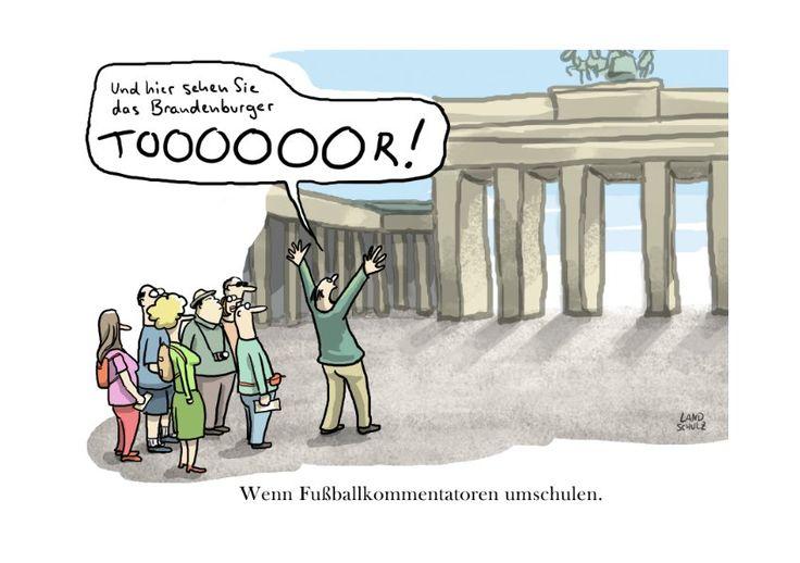 Satire@Spiegel Online: Cartoons über Fußball - SPIEGEL ONLINE - Spam