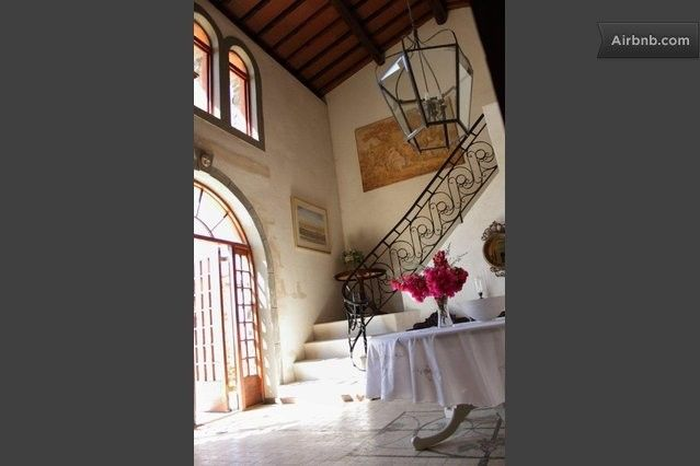Entrance and foyer to the Main House