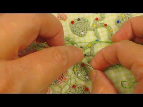 сборка изделия игольной сеточкой - YouTube