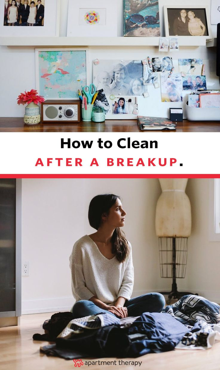 I've found that whenever I go through something upsetting like a breakup, I wind up cleaning, decluttering and reorganizing everything in sight (and I know I'm not alone in that!) If you're also a stress-cleaner and you find yourself facing heartbreak, your recovery process probably looks a lot like this...here's how to get through, refocus, and reorganize.