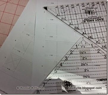 Bonnie Hunter's tips & tricks using the EZ Angle and EZ Companion Rulers. Quiltville