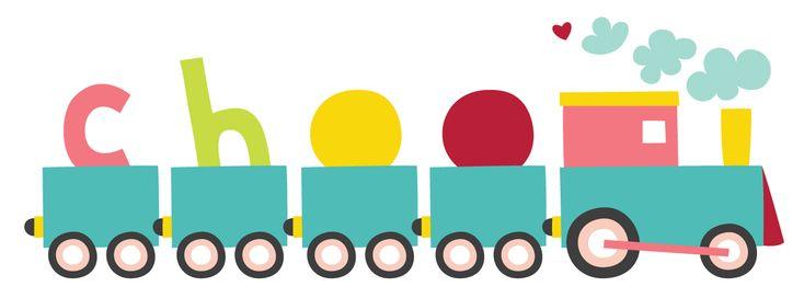 Cute Train Clip Art | Cute vector illustration of a train ...