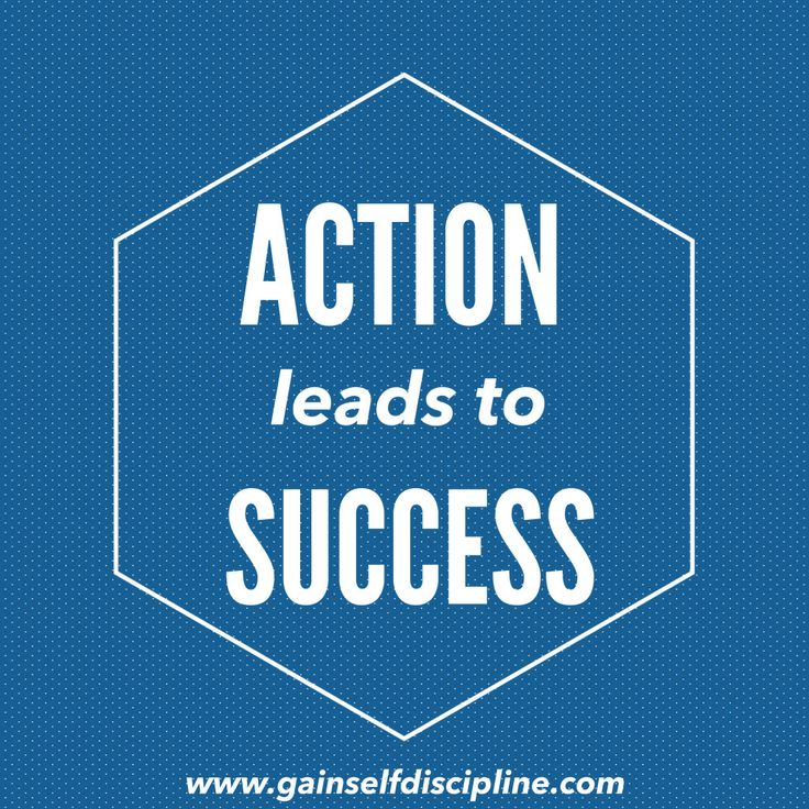 discipline leads to success We want you to be disciplined over the next 20 minutes or so, we'll talk about  practical things you can do to develop the discipline you need to succeed.