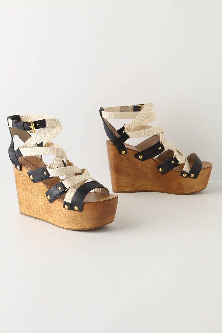 wedgeStormy Wedges, Dark And Stormy, 2011 Shoes, Wedding Shoes, Anthropologie Com, Fashion Spring, Anthropology Offering, Nautical Wedges, 25 Awesome