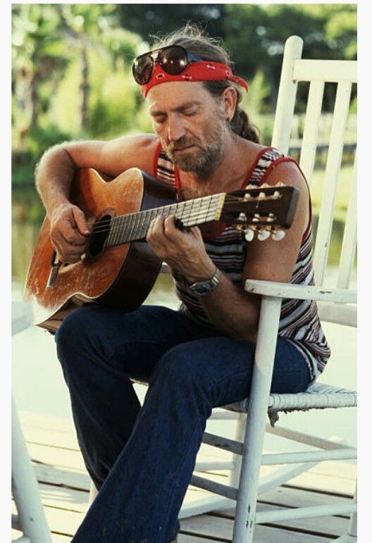 "joegramoe: ""Willie Nelson Just because! """