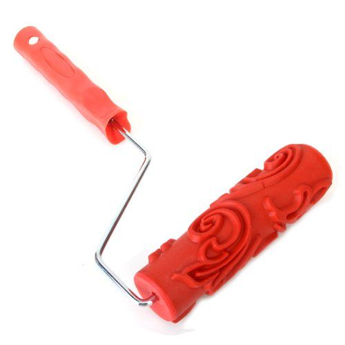 """7"""" DIY Floral and Dot Pattern Paint Roller for Wall Decoration w/ Handle Generic http://www.amazon.com/dp/B00D126H2Y/ref=cm_sw_r_pi_dp_IJrKtb10V4H83NV7"""