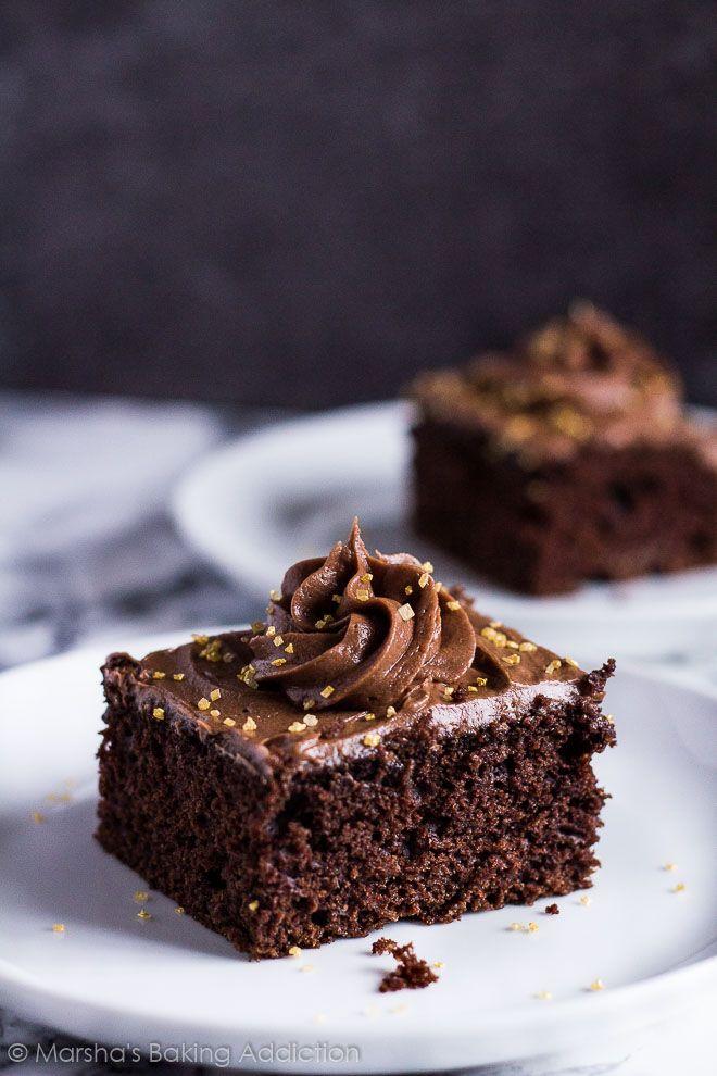 Chocolate Sheet Cake   marshasbakingaddiction.com @marshasbakeblog
