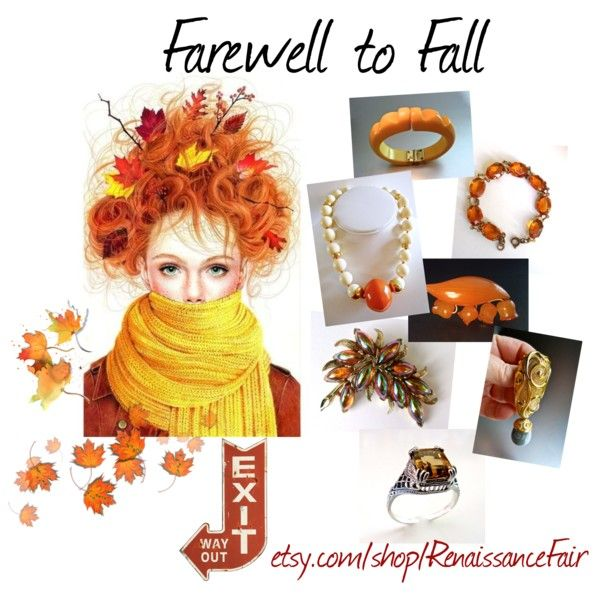 Farewell to Fall by renaissance-fair on Polyvore featuring Jose & Maria Barrera and Creative Co-op