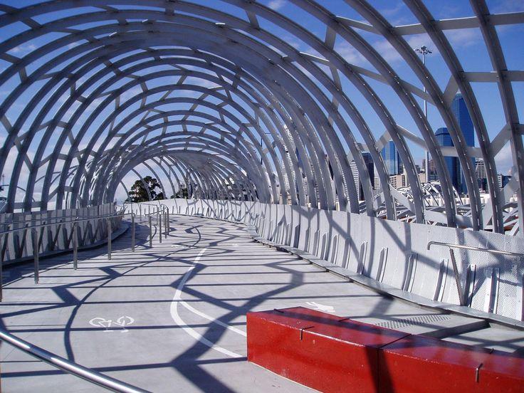 Web Bridge at Melbourne Docklands