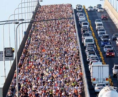 I'll run 10km in the Bridge to Brisbane Fun Run - September 2012