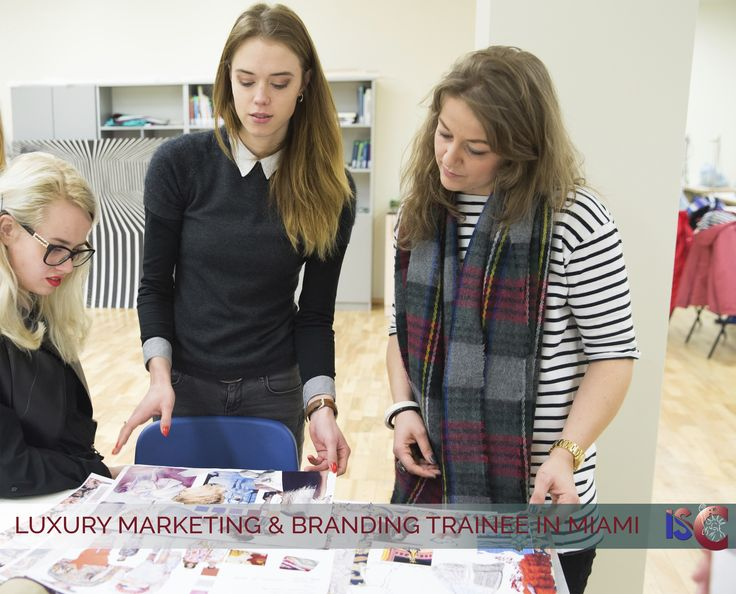 LUXURY MARKETING & BRANDING TRAINEE IN MIAMI Company seeks creative and talented Luxury marketing & Branding trainee. You will maintain Social Media network, drive creative writing and marketing campaigns, assist with photo-shoots, research, and develop marketing strategies. Must have excellent communication skills.  Salary: $1,600 Apply Now: http://the-isc.com/job/luxury-marketing-and-branding-trainee-in-miami/ Reference: MIA16044