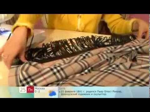 Como Hacer Una Falda De Picos Cruzada - YouTube