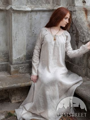Medieval Exclusive XIV century style Chemise Underdress NEED FOR FEST 2013
