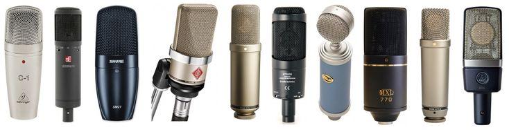 The Top 10 Best Microphones for Recording Vocals https://plus.google.com/+DanievanderMerwe/posts/Q7XLoUwsFTq