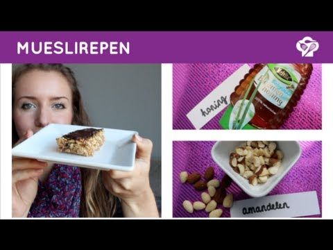 ▶ FOODGLOSS - Mueslirepen - YouTube