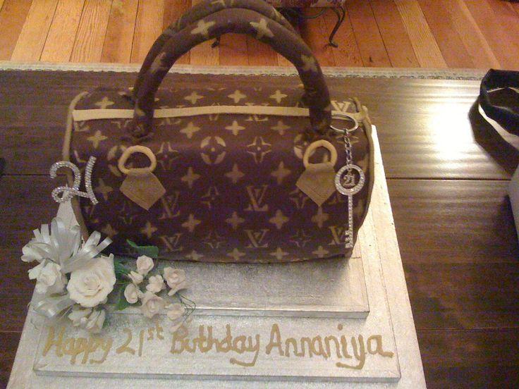 Annaniya's 21st Birthday Cake