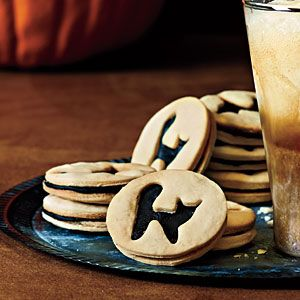 Letting these cookies cross your path will bring bad luck, so make sure to gobble them up before the tray passes you by.