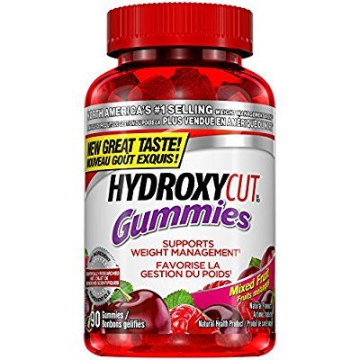 Hydroxycut Gummies, Weight Management Gummies, Mixed Fruit, 90 Count: Amazon.ca: Health & Personal Care