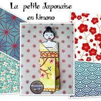 Pliage du kimono : activité liée à la découverte du Japon ou de la Chine.