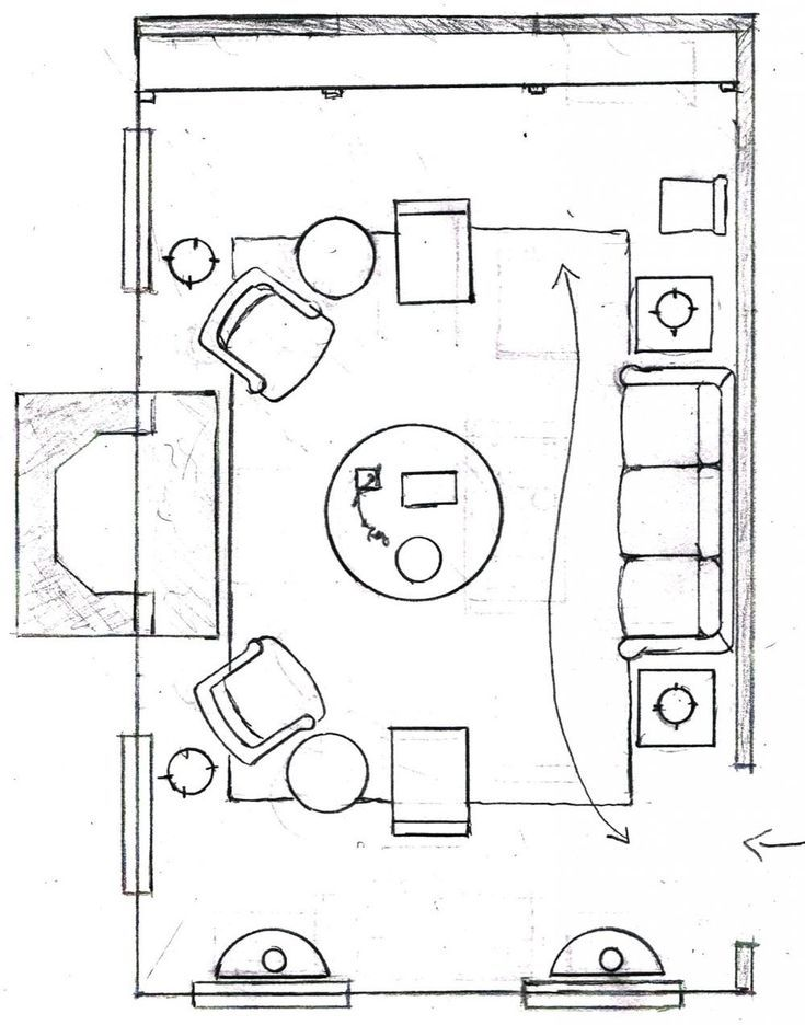 One Living Room Layout Seven Different Ways Living Room Floor Plans Living Room Furniture Layout Livingroom Layout #plan #of #living #room #with #furniture