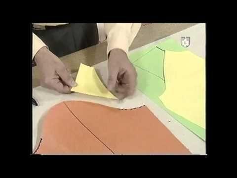 Puntos y Puntadas 297. Técnica Rápida de la Manga Raglan. Moldería. - YouTube