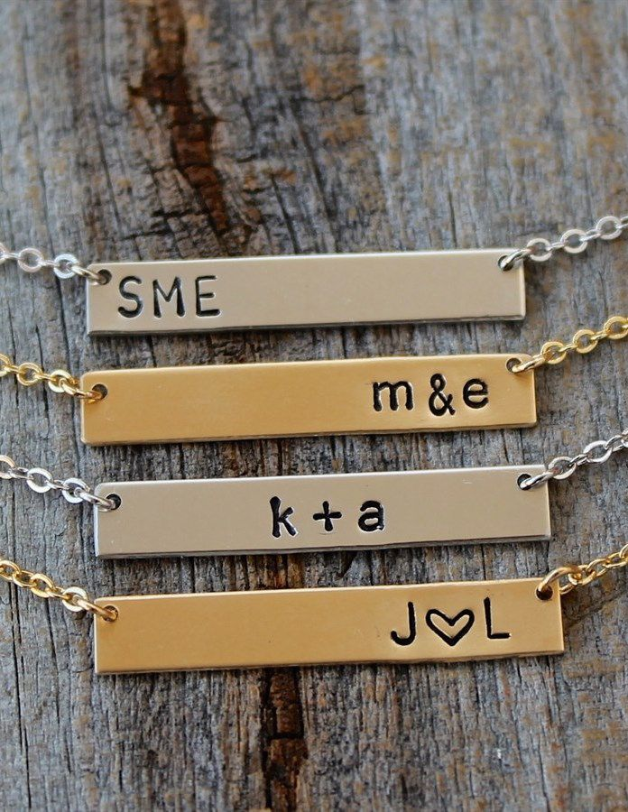 Love this beautiful, dainty necklace! It can be personalized with your choice of initials!