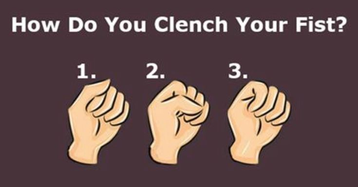 The Way You Clench Your Fist Actually Reveals A Lot About Your Personality