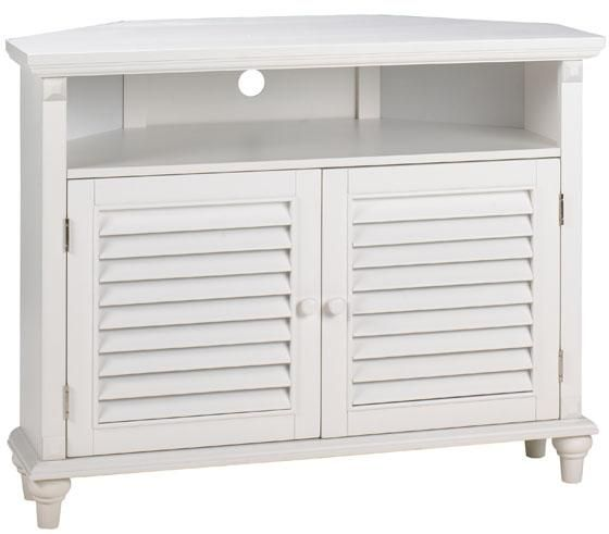 Captivating Savannah Louvered Door Corner TV/DVD Cabinet   Tv Cabinet   Wood Tv Stands