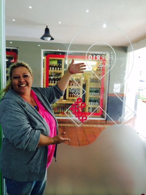 Once you have purchased your R10 PinkDrive ribbon, don't forget to pop your commemorative card onto the window.   http://www.wakaberry.co.za/pinkdrive/