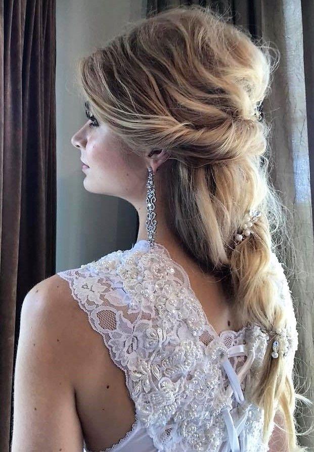 Tattered Hand Made Wedding Dress Engaged Engagement Marriage